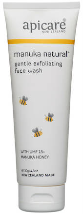 Apicare Manuka Natural Gentle Exfoliating Face Wash 130g