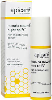 Apicare Manuka Natural Night Shift Serum 30g