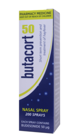 Butacort 50 Nasal Spray