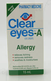Clear Eyes-A Allergy Eye Drops