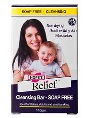 Hopes Relief Cleansing Bar - Soap Free