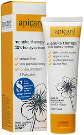 Apicare Manuka Therapy 30% Honey Creme 50g