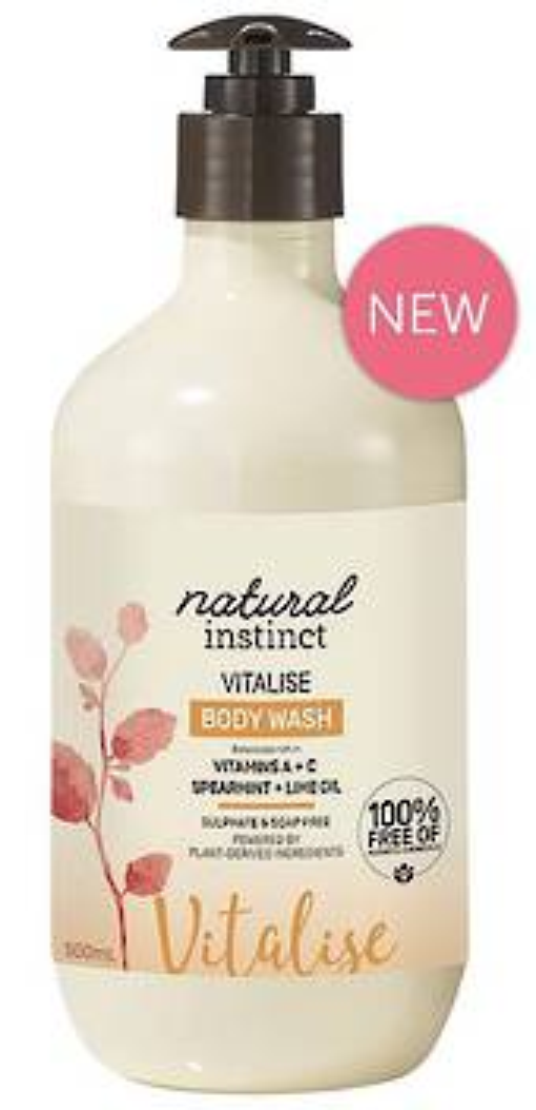 Natural Instinct Vitalise Body Wash 500ml