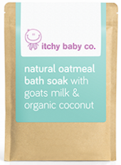 Itchy Baby Co. Natural Oatmeal Bath Soak with Goats Milk & Organic Coconut 200g