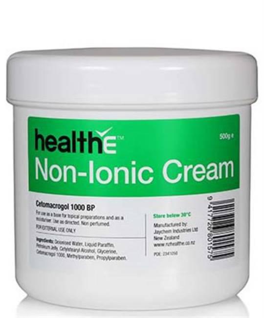 HealthE Non-Ionic Cream (Cetomacrogol Cream) 500g