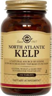 Solgar North Atlantic Kelp 250 Tablets