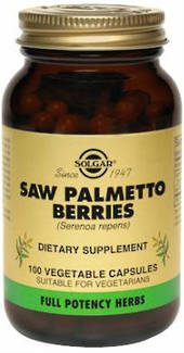 Solgar Saw Palmetto 520mg 100 Vegicaps