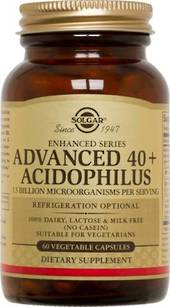 Solgar Advanced 40+ Acidophilus 60s