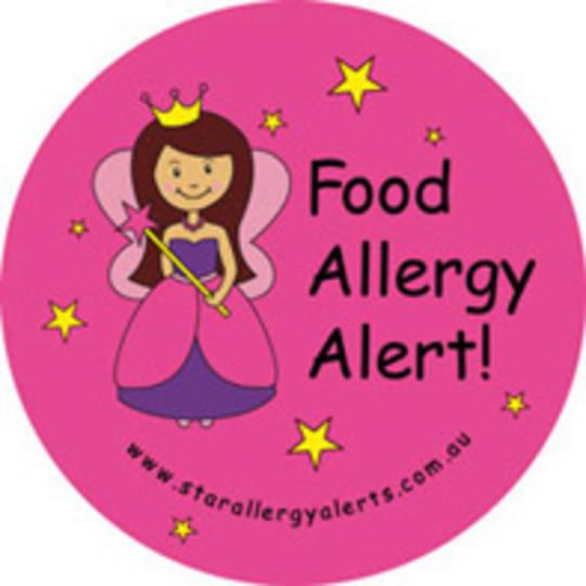 Food Allergy Alert! Badge Pack - Pirate or Fairy
