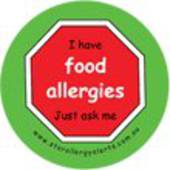 I Have Food Allergies - Just ask me Badge Pack