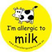 I'm Allergic to Milk Badge Pack