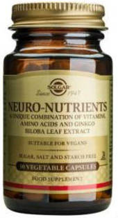 Solgar Neuro Nutrients Capsules