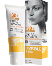 INVISIBLE ZINC Tinted Daywear LIGHT SPF30+ 50g