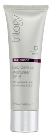 Trilogy Age Proof Daily Defense Moisturiser SPF15 50ml