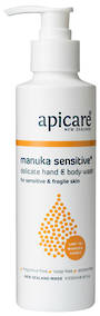 Apicare Manuka Sensitive Hand & Body Wash 200ml