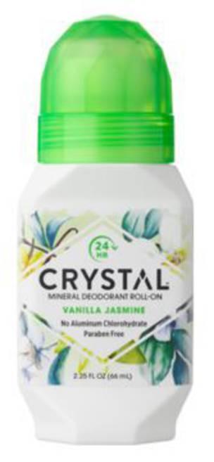 Crystal Vanilla Jasmine Mineral Deodorant Roll-on