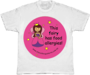 This fairy has food allergies! - kid's allergy alert t-shirt