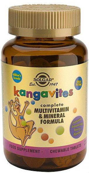 Solgar Kangavites - Bouncing Berry
