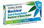 Maxiclear Hayfever and Sinus Relief Tablets (Loratadine & Phenylephrine)