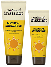 Natural Instinct Natural SPF30 Sunscreen