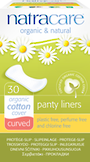Natracare Cotton Panty Liners Curved 30