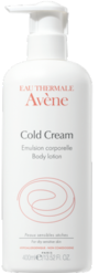 Avene Body Lotion with Cold Cream 400ml