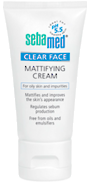 Sebamed Clear Face Mattifying Cream 50ml