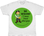 BEWARE! I have food allergies - kid's allergy alert t-shirt